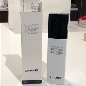 Chanel lait confort cleansing milk face and eyes